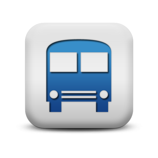 118372-matte-blue-and-white-square-icon-transport-travel-transportation-school-bus